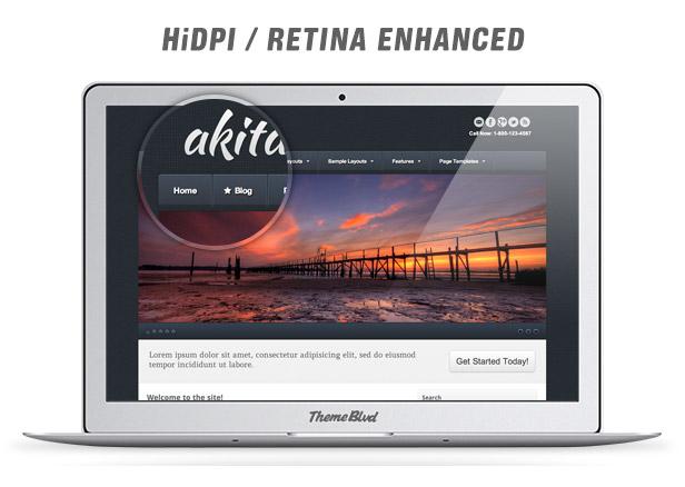 Akita Responsive WordPress Theme - 5
