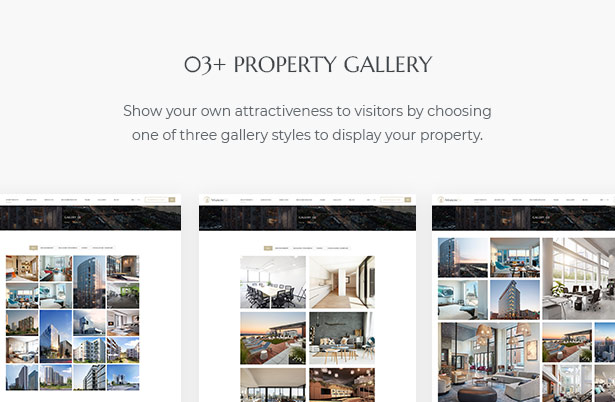 03+ Property Gallery in MaisonCo Single Property For Sale & Rent WordPress Theme