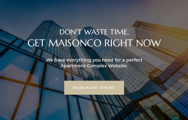 MaisonCo Best Single Property For Sale & Rent WordPress Theme