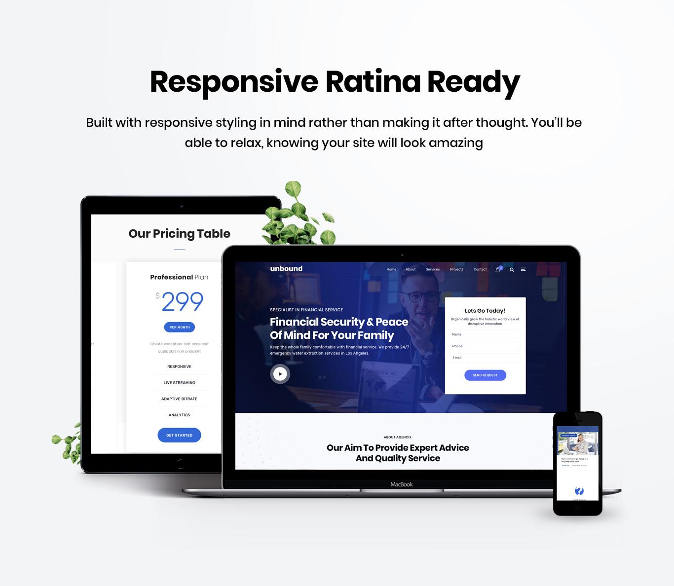 Responsive retina ready