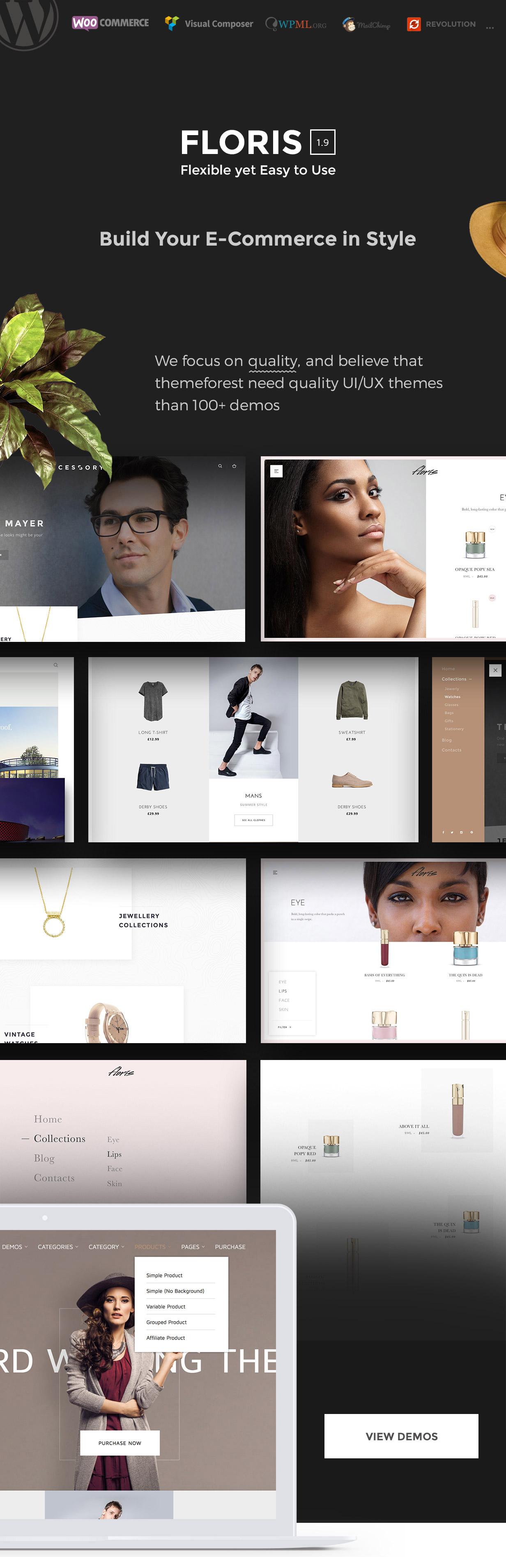 Floris - Fashion Shopping Theme - 4