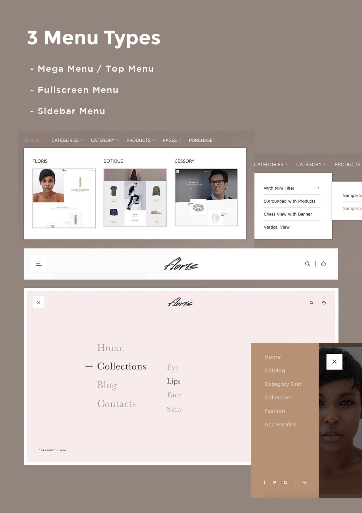 Floris - Fashion Shopping Theme - 8