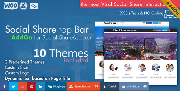 Social Share & Locker Pro WordPress Plugin - 18