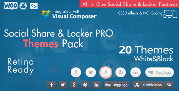 Social Share & Locker Pro WordPress Plugin - 21