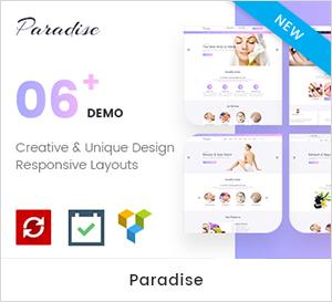 Multipurpose Spa & Beauty WordPress Theme
