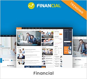 Business and Financial WordPress Theme