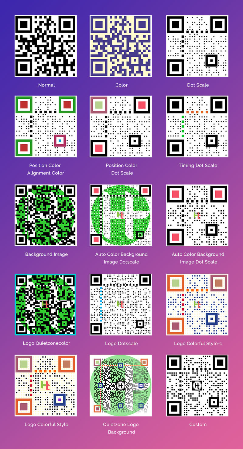 HT QR Code Generator for WordPress