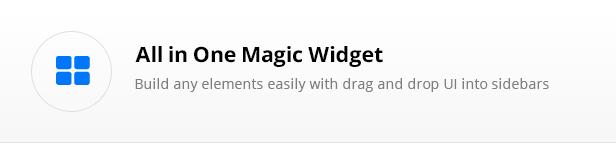 all in one responsive widget