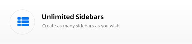 unlimited sidebar