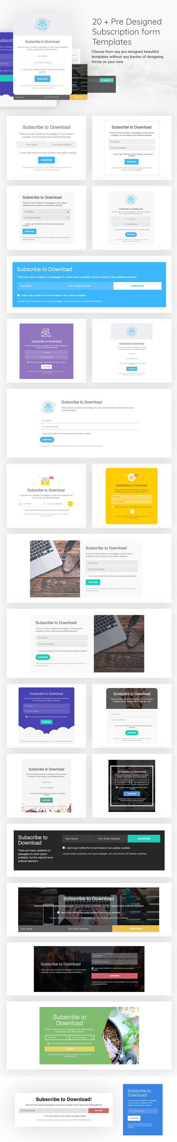 Subscribe to Download - An advanced subscription plugin for WordPress - 8