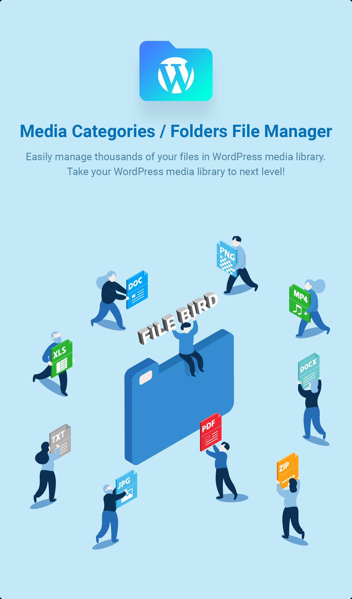 FileBird - WordPress Media Library Folders - 1