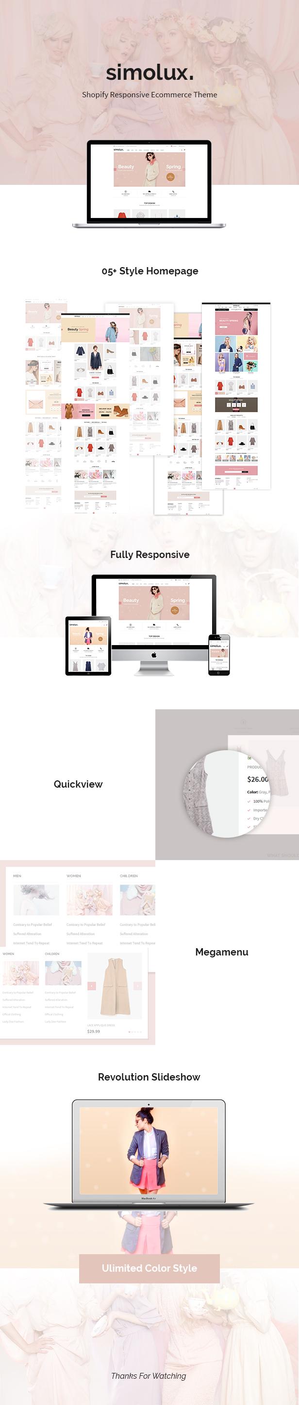 Simolux - Responsive Shopify Theme - 2