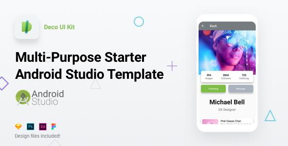 Deco UI Kit - Multi-purpose Starter Ionic 3 App Template - Angular 6, Sass, Firebase