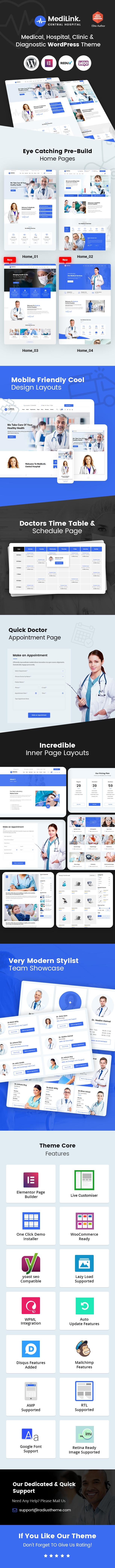 MediLink WordPress Theme