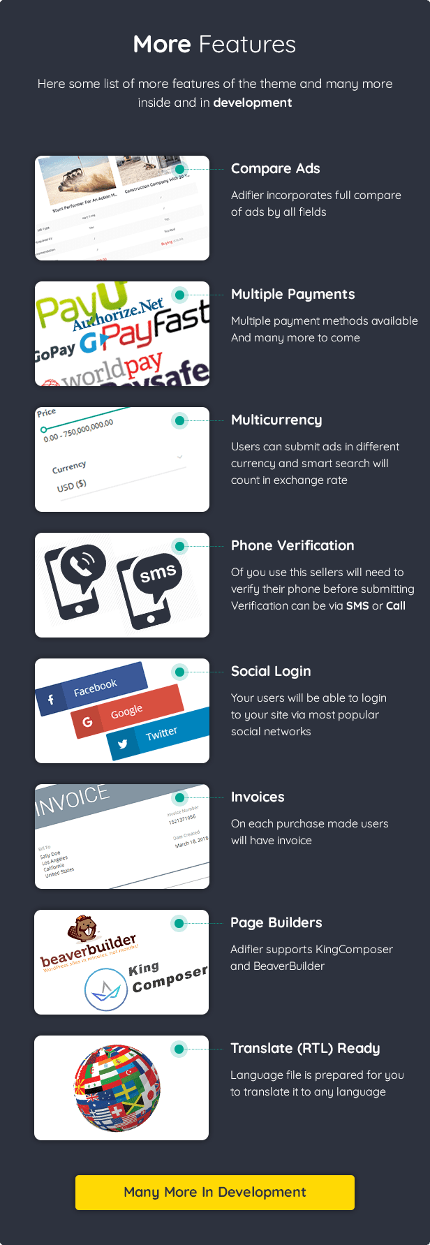 Adifier - Classified Ads WordPress Theme - 19