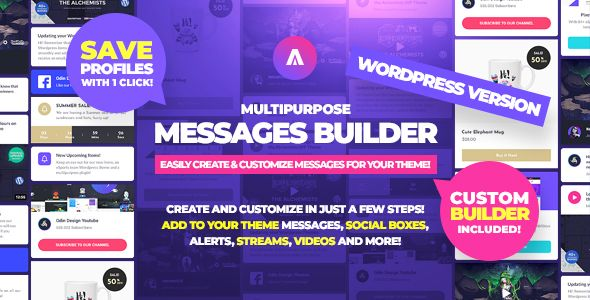 Asgard - Social Media Alerts & Feeds WordPress Builder - Facebook, Instagram, Twitch and more! - 7