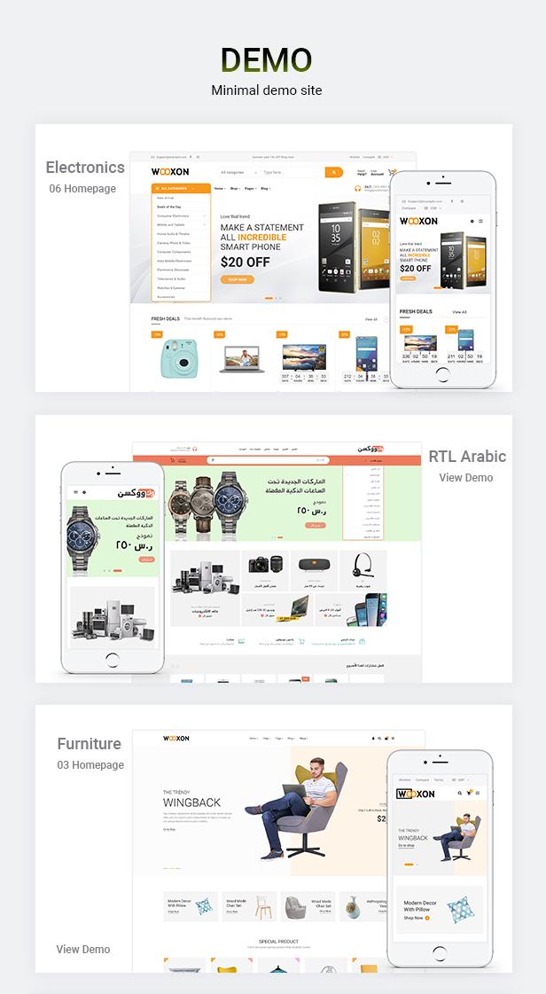 Wooxon - WooCommerce WordPress Theme - 1
