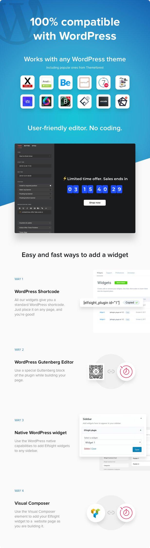 Countdown Timer - WordPress Countdown Timer plugin - 2