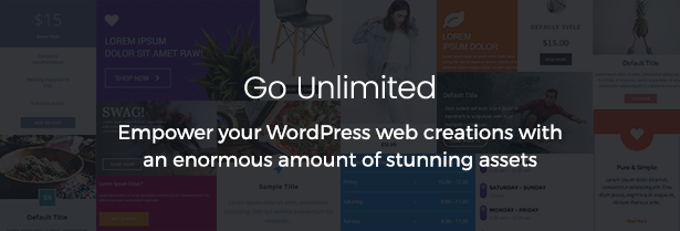 Unlimited Addons for WordPress - 1