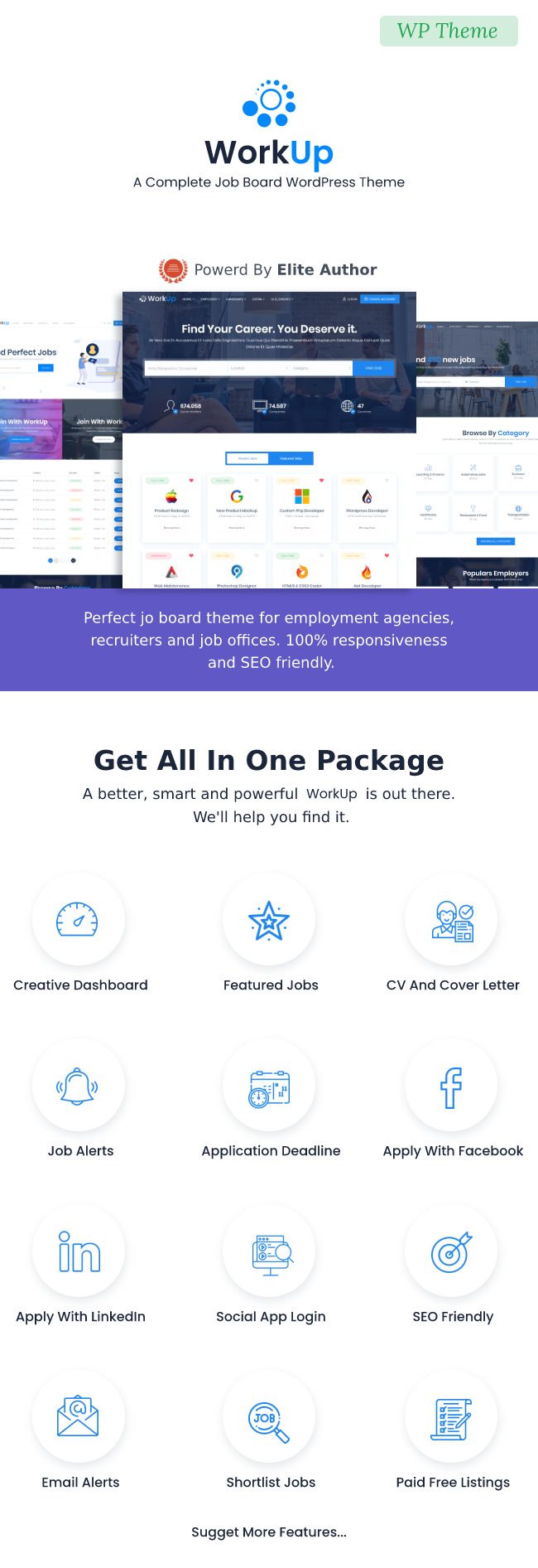 Workup – Job Board WordPress Theme - 3