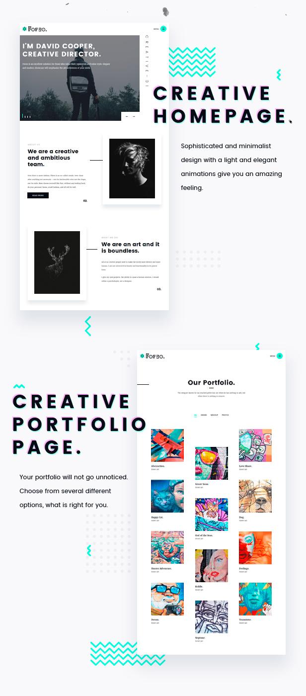 Forzo | Agency/Portfolio Theme - 4