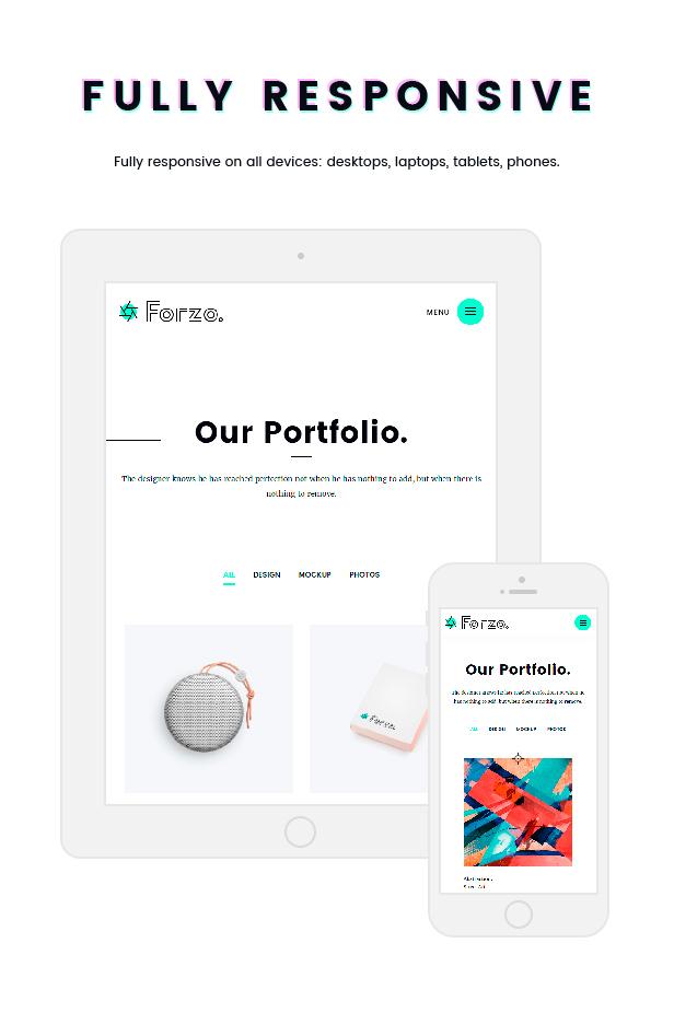 Forzo | Agency/Portfolio Theme - 5