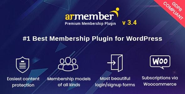 Photo of Get ARMember – WordPress Membership Plugin Download