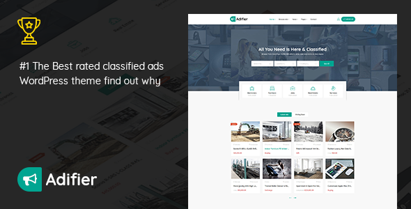 Photo of Get Adifier – Classified Ads WordPress Theme Download