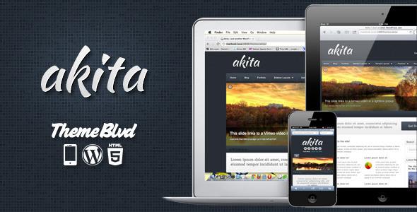 Photo of Get Akita Responsive WordPress Theme Download