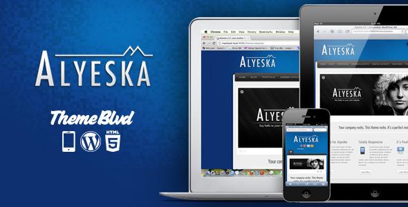 Photo of Get Alyeska Responsive WordPress Theme Download
