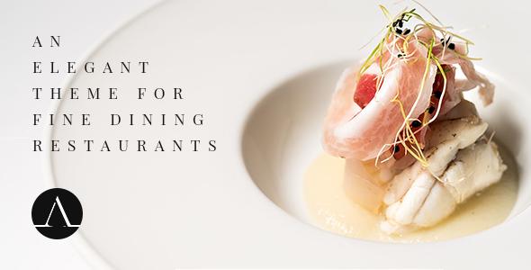 Photo of Get Attika – Elegant Restaurant Theme Download