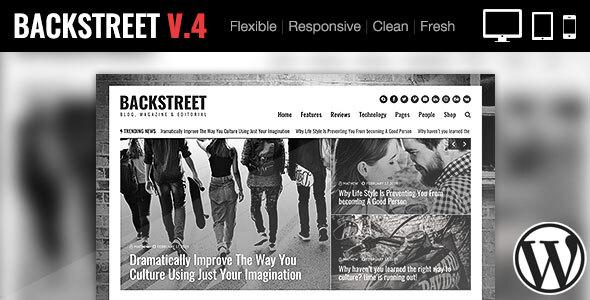 Photo of Get Backstreet – Blog & Magazine Theme Download