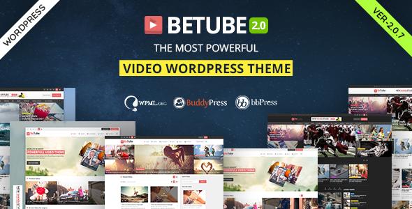 Photo of Get Betube Video WordPress Theme Download