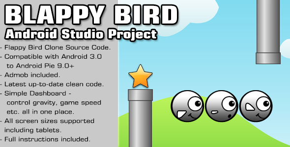 Photo of Get Blappy Bird Source Code – Android Studio Project Download