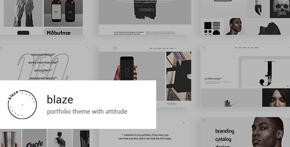 Photo of Get Blaze – Portfolio Theme Download