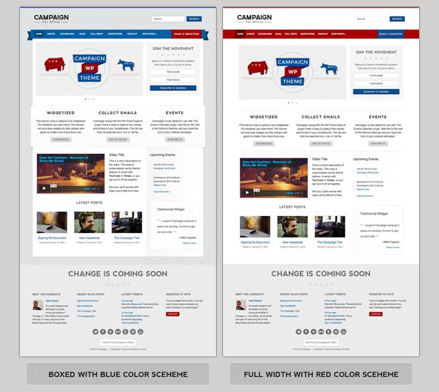 Campaign - Political WordPress Theme - 1
