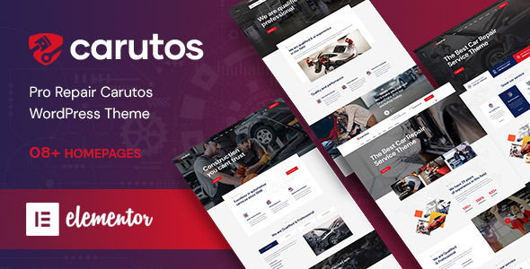 Photo of Get Carutos – Car Services WordPress Theme Download