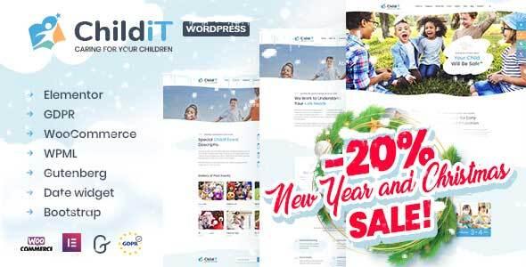 Photo of Get Childit – Kindergarten Elementor WordPress Theme Download