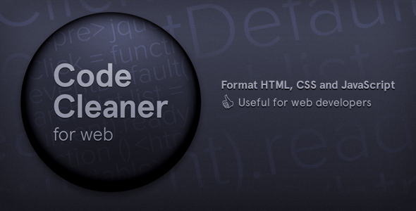 Photo of Get Code Cleaner for Web (HTML, CSS and JavaScript) Download