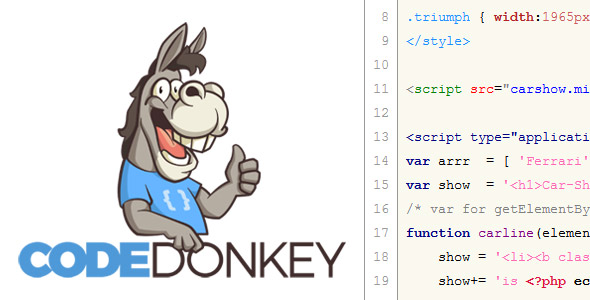 Photo of Get Code-Donkey Code Multi-Highlighter HTML PHP JS CSS – 2018 Download