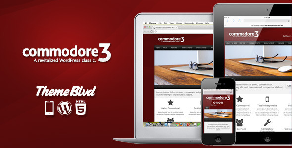 Photo of Get Commodore Responsive WordPress Theme Download