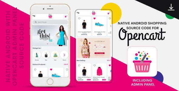 Photo of Get Complete Native Android Shopping App Source Code with Opencart Download