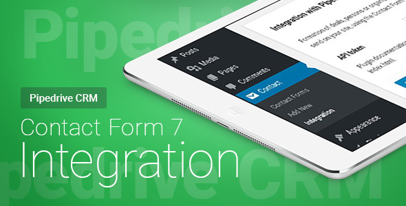 Photo of Get Contact Form 7 – Pipedrive CRM – Integration Download