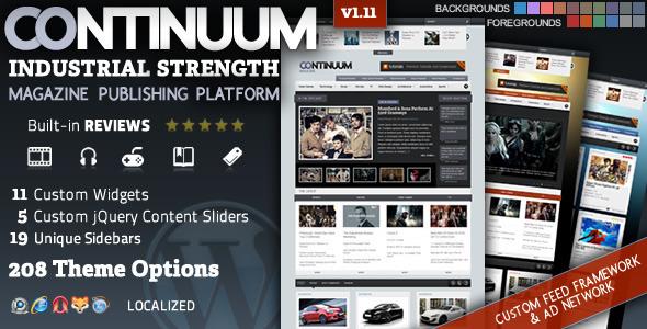 Photo of Get Continuum – Magazine Wordpress Theme Download