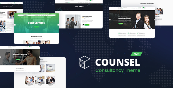 Photo of Get Counsell – Consultancy WordPress Theme Download