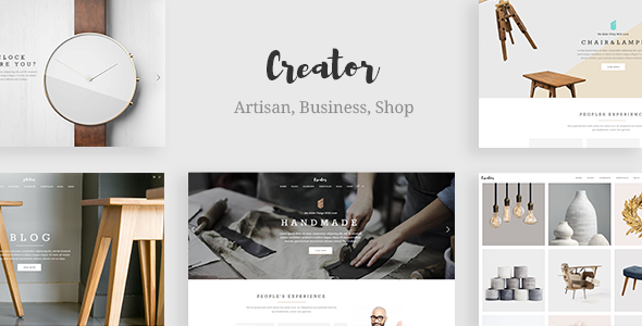 Photo of Get Creator – Theme for Handmade Artisans Download