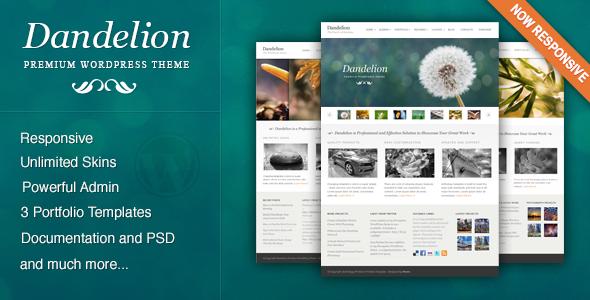 Photo of Get Dandelion – Powerful Elegant WordPress Theme Download