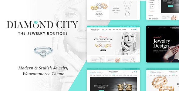 Photo of Get DiCi – Jewelry Shop WordPress Theme Download