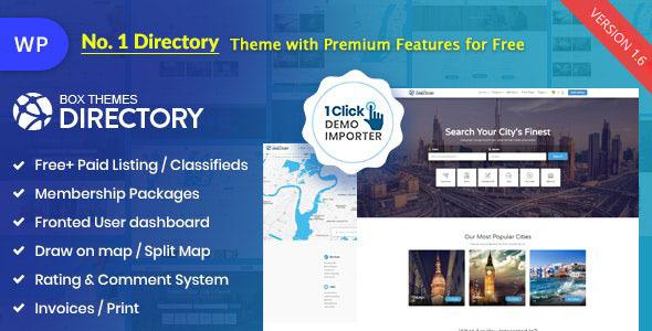 Photo of Get Directory | Multi-purpose WordPress Theme Download
