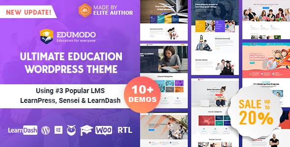 Photo of Get Edumodo – Education WordPress Theme Download